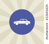 car icon. sign design....