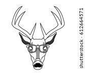 hipster style design | Shutterstock .eps vector #612664571