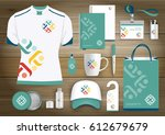 people logo color community... | Shutterstock .eps vector #612679679