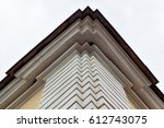 part of the building and the... | Shutterstock . vector #612743075