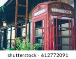 Abandoned  British Red Public...