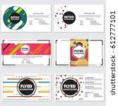 fresh background flyer style... | Shutterstock .eps vector #612777101