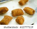 Deep Fried Brazilian Croquette...