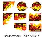 hot sale price offer deal... | Shutterstock .eps vector #612798515