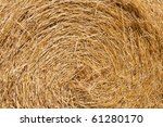 Wheat Haystacks After The...