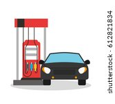 oil industry business icons | Shutterstock .eps vector #612821834