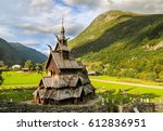Borgund Stave Wooden Church In...