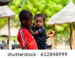 koutammakou  togo   jan 13 ... | Shutterstock . vector #612848999