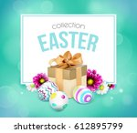 green template vector card with ...   Shutterstock .eps vector #612895799