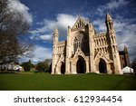 st albans cathedral on sunny day | Shutterstock . vector #612934454