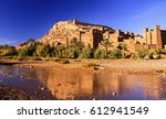old city ramparts of ait... | Shutterstock . vector #612941549