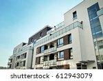 modern  luxury apartment...   Shutterstock . vector #612943079