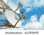 Satellite Antenna On The Wall...