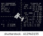 hud russian spaceship iss on...
