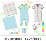 vector fashion illustration of...   Shutterstock .eps vector #612978869