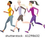 Girls Jogging