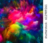 color explosion series.... | Shutterstock . vector #612989261