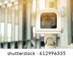 close up closed circuit camera... | Shutterstock . vector #612996335