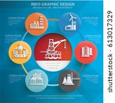 industry info graphic concept... | Shutterstock .eps vector #613017329