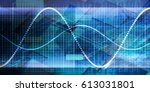 futuristic abstract background... | Shutterstock . vector #613031801