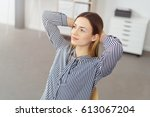 close up portrait of young...   Shutterstock . vector #613067204