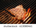 steak | Shutterstock . vector #613080461