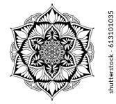 mandalas for coloring book....   Shutterstock .eps vector #613101035