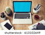 computer network connection... | Shutterstock . vector #613102649