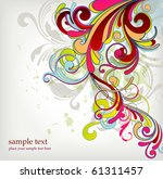 floral background | Shutterstock .eps vector #61311457