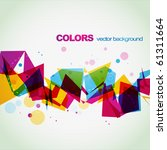 colorful abstract shape... | Shutterstock .eps vector #61311664