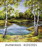 Landscape  Picture Oil Paints...