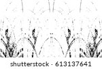 grunge black and white urban... | Shutterstock .eps vector #613137641