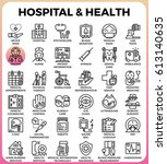 hospital and health concept...