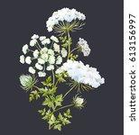 Watercolor Flower Bouquet ...