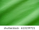 green sports clothing fabric... | Shutterstock . vector #613159721
