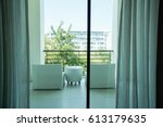 Outdoor Luxury White Chair At...