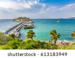 kusadasi  turkey   march 31 ... | Shutterstock . vector #613183949