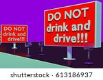 "3d rendering of ""do not drink... 