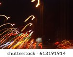 nocturnal impressions from... | Shutterstock . vector #613191914