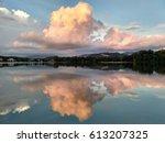 Amazing Sunset Cloud Reflection.