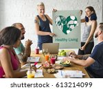 balance health living lifestyle ...   Shutterstock . vector #613214099
