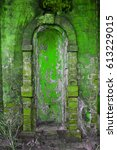 Small photo of Green old arch