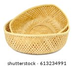 Two Wicker Baskets From The...