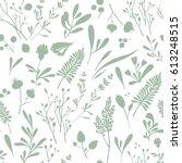 seamless vector pattern of... | Shutterstock .eps vector #613248515