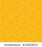 seamless honeycomb pattern....   Shutterstock .eps vector #613323011
