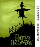 halloween design featuring the... | Shutterstock .eps vector #61333384