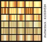 vector shiny gold foil luxury... | Shutterstock .eps vector #613334534
