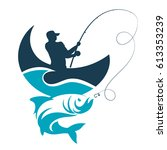 Fishing Design For Vector. A...