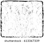 grunge black and white urban... | Shutterstock .eps vector #613367339
