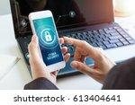 business  technology  internet... | Shutterstock . vector #613404641